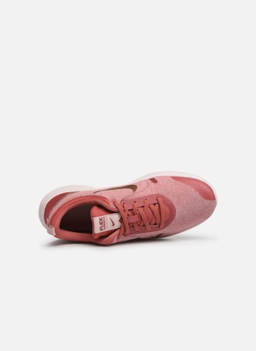 Zapatillas de deporte Nike Wmns Nike Flex Experience Rn 8 Rosa vista lateral izquierda