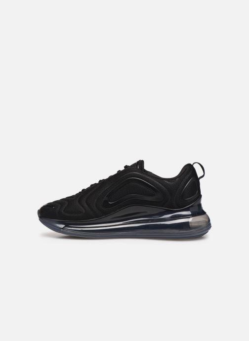 Sneaker Nike Air Max 720 schwarz ansicht von vorne