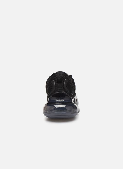 Sneaker Nike Air Max 720 schwarz ansicht von rechts