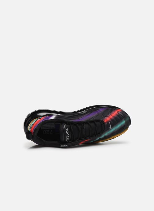 Sneaker Nike Air Max 720 schwarz ansicht von links