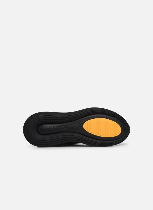 Sneaker Nike Air Max 720 schwarz ansicht von oben