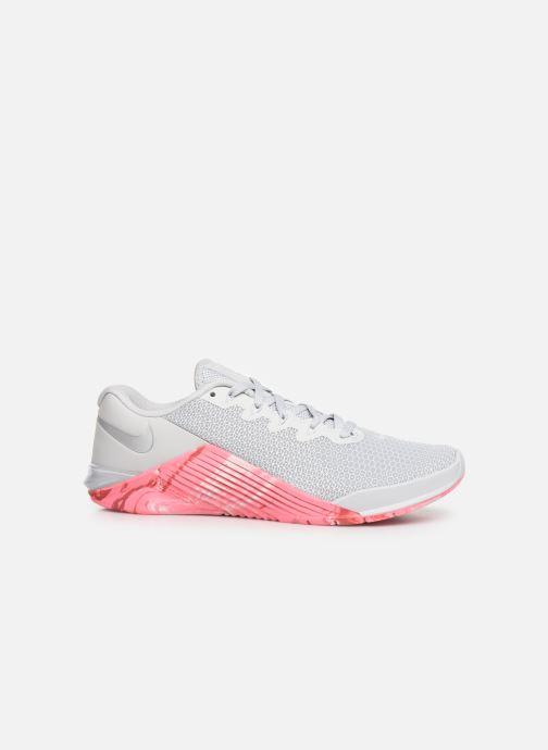 Sport shoes Nike Wmns Nike Metcon 5 Grey back view