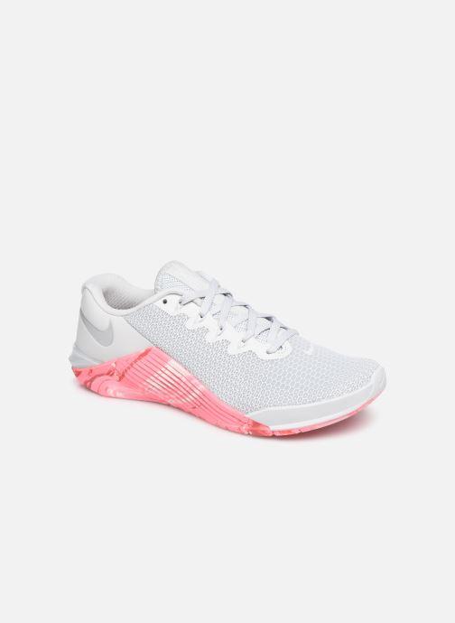 Zapatillas de deporte Nike Wmns Nike Metcon 5 Gris vista de detalle / par