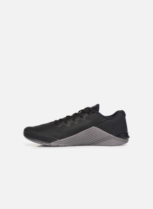 Zapatillas de deporte Nike Nike Metcon 5 Negro vista de frente