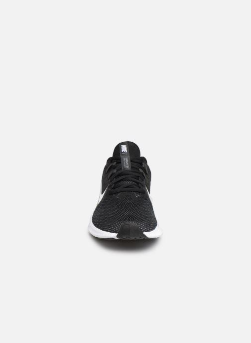 Sportschuhe Nike Wmns Nike Downshifter 9 schwarz schuhe getragen