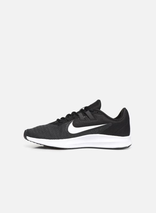 Sportschuhe Nike Wmns Nike Downshifter 9 schwarz ansicht von vorne
