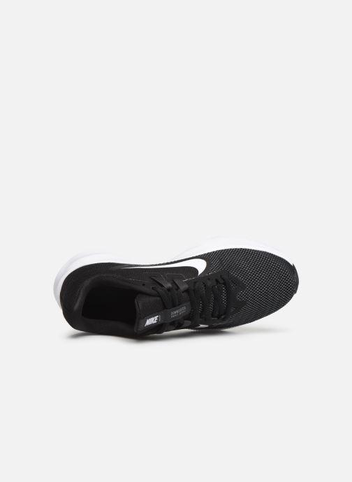 Chaussures de sport Nike Wmns Nike Downshifter 9 Noir vue gauche