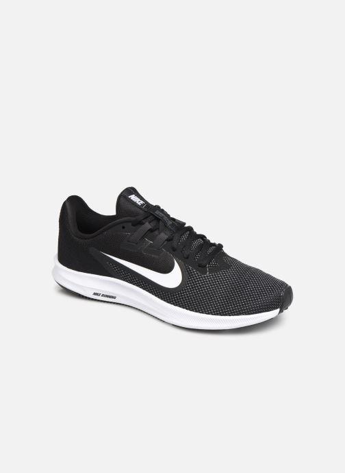 Chaussures de sport Nike Wmns Nike Downshifter 9 Noir vue détail/paire