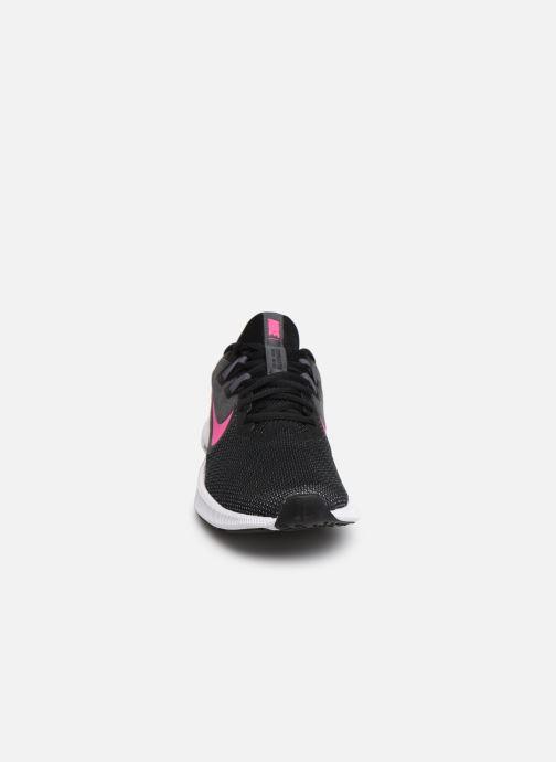 Chaussures de sport Nike Wmns Nike Downshifter 9 Noir vue portées chaussures