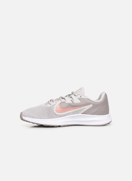 Chaussures de sport Nike Wmns Nike Downshifter 9 Gris vue face
