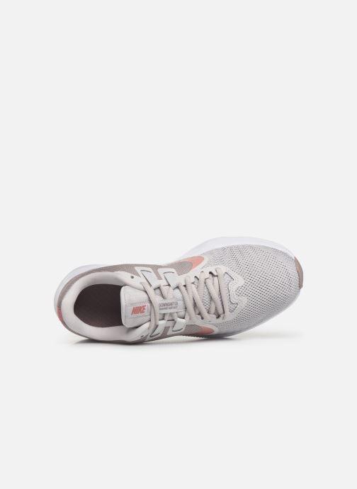 Chaussures de sport Nike Wmns Nike Downshifter 9 Gris vue gauche