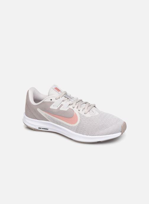 Chaussures de sport Nike Wmns Nike Downshifter 9 Gris vue détail/paire