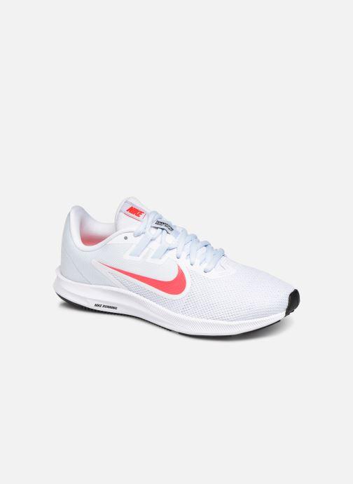 Chaussures de sport Nike Wmns Nike Downshifter 9 Blanc vue détail/paire
