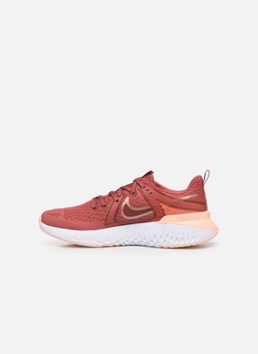 Chaussures de sport Nike Wmns Nike Legend React 2 Rouge vue face