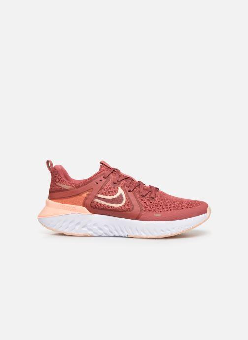Chaussures de sport Nike Wmns Nike Legend React 2 Rouge vue derrière