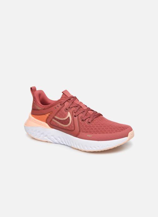 Chaussures de sport Nike Wmns Nike Legend React 2 Rouge vue détail/paire