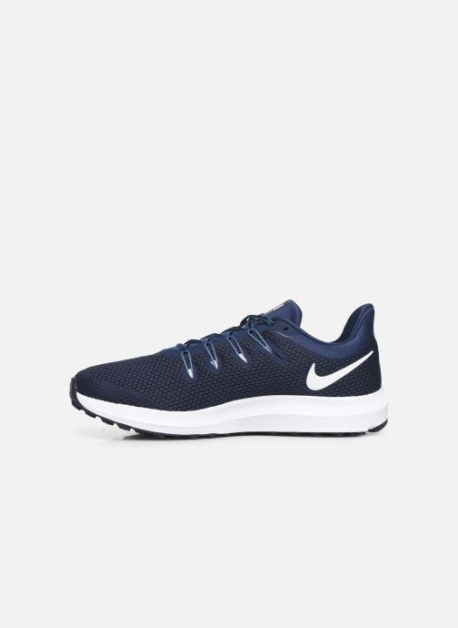Chaussures de sport Nike Nike Quest 2 Bleu vue face
