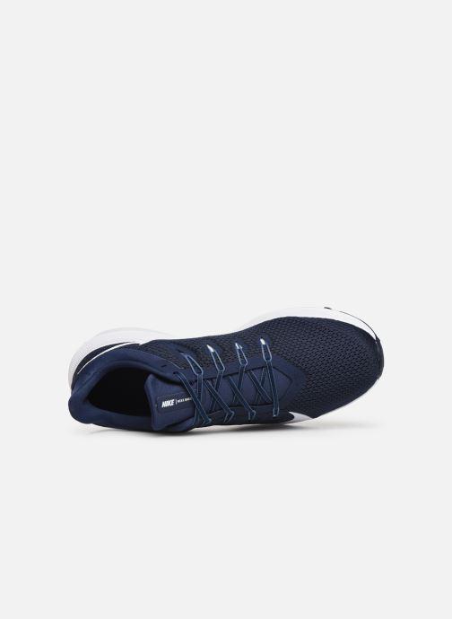 Chaussures de sport Nike Nike Quest 2 Bleu vue gauche