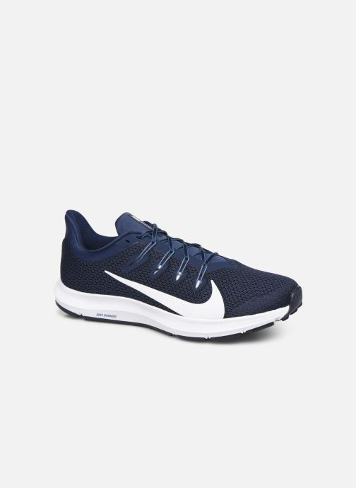 Sport shoes Nike Nike Quest 2 Blue detailed view/ Pair view