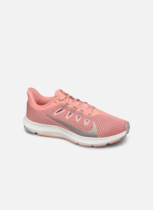 Chaussures de sport Nike Wmns Nike Quest 2 Rose vue détail/paire