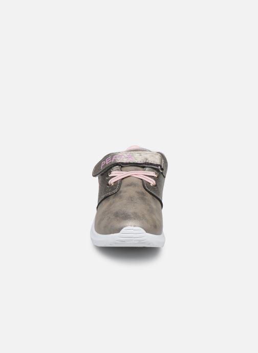 Baskets Peppa Pig Pp Galeane Gris vue portées chaussures
