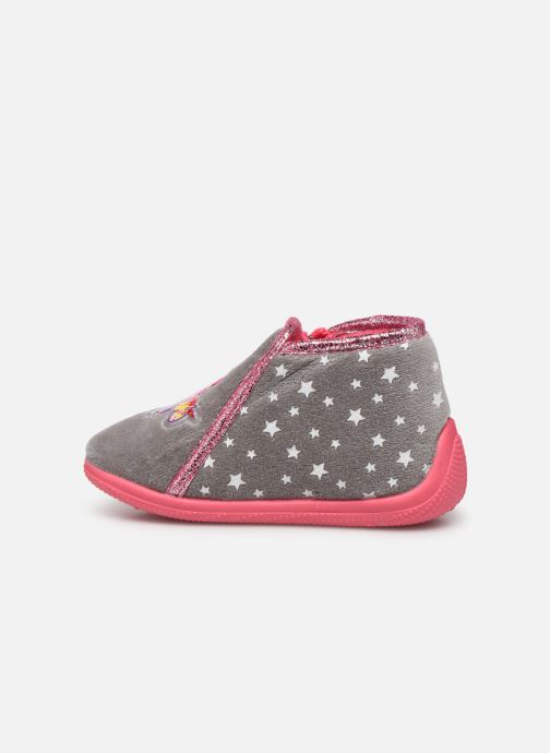 Chaussons Peppa Pig Pp Pakdo Gris vue face