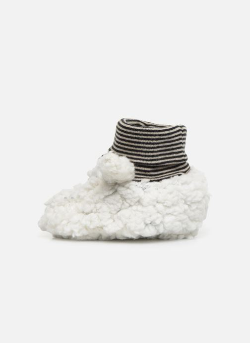 Chaussons Milk On The Rocks Berry  Slippers Bunny Blanc vue face