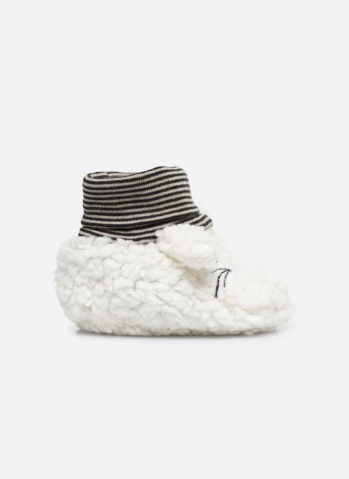 Chaussons Milk On The Rocks Berry  Slippers Bunny Blanc vue derrière