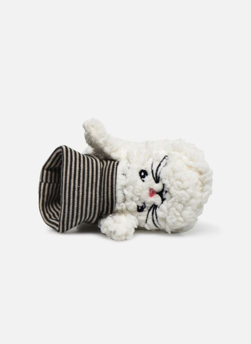 Chaussons Milk On The Rocks Berry  Slippers Bunny Blanc vue gauche