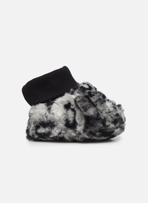 Pantofole Milk On The Rocks Berry Slippers Leopard Bianco immagine posteriore