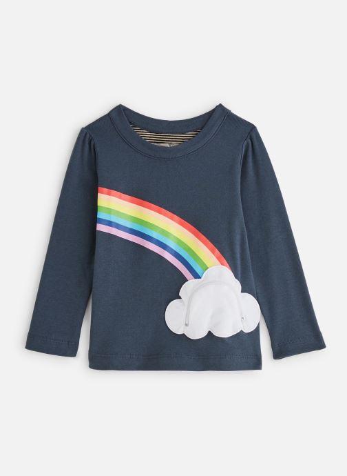 Kleding Milk On The Rocks Tess T-Shirt Lucky Rainbow Blauw detail