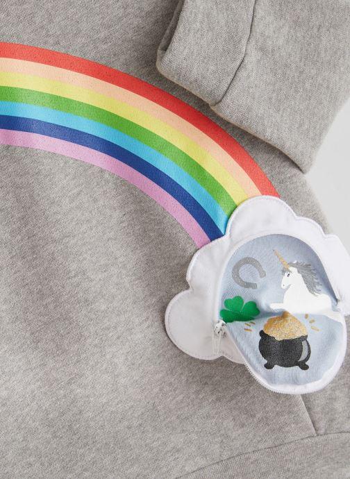 Vêtements Milk On The Rocks Dada Dress Lucky Rainbow Gris vue portées chaussures
