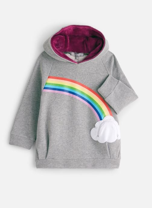 Vêtements Milk On The Rocks Dada Dress Lucky Rainbow Gris vue détail/paire