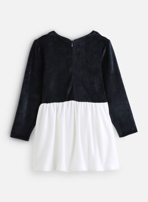 Vêtements Milk On The Rocks Delight Dress Swan Bleu vue bas / vue portée sac