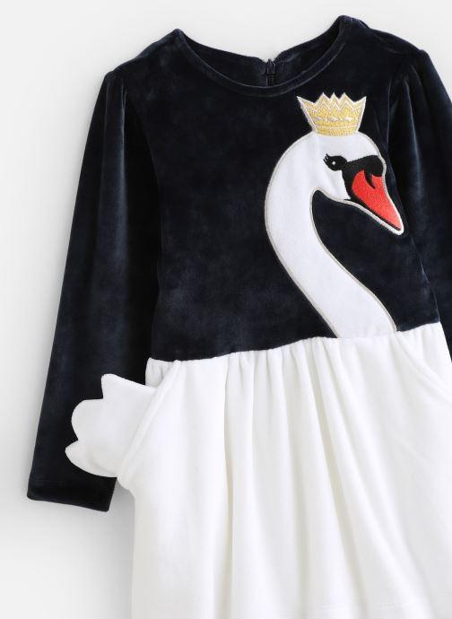 Vêtements Milk On The Rocks Delight Dress Swan Bleu vue portées chaussures