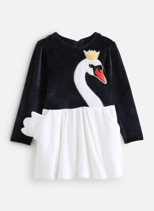 Vêtements Milk On The Rocks Delight Dress Swan Bleu vue détail/paire