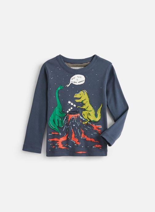Vêtements Milk On The Rocks Tom T-Short Dino Camp Bleu vue détail/paire