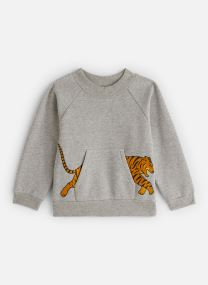 Sweatshirt - Sancho Swea Shirt Tiger Pocket