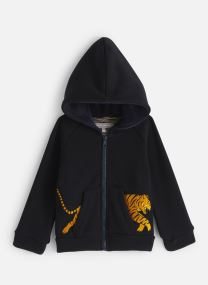 Kleding Accessoires Jackson Hooded Jacket Tiger Pocket