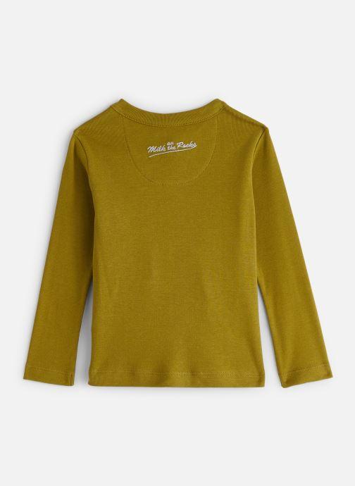 Vêtements Milk On The Rocks Tom T-Shirt Vegan Lion Vert vue bas / vue portée sac