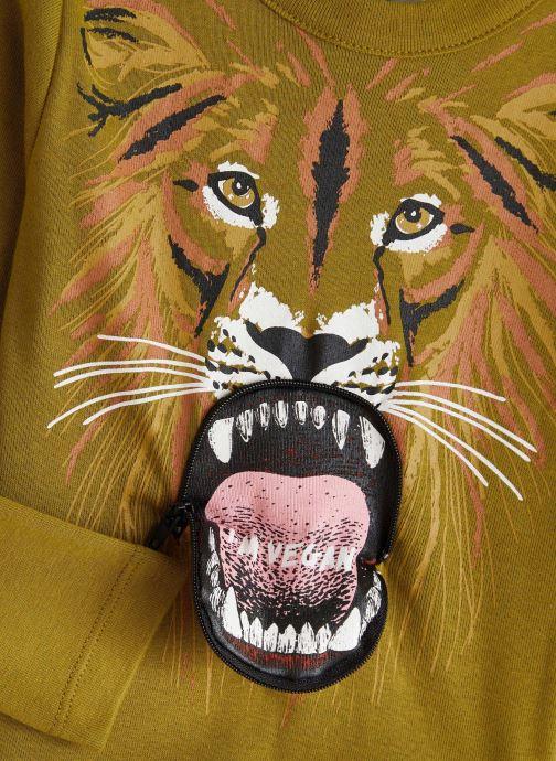 Vêtements Milk On The Rocks Tom T-Shirt Vegan Lion Vert vue portées chaussures
