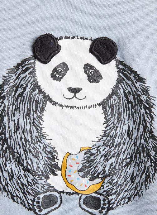 Vêtements Milk On The Rocks Tom T-Shirt Panda Donuts Bleu vue portées chaussures