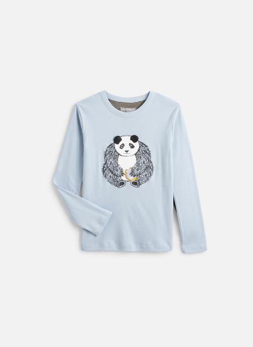 Vêtements Milk On The Rocks Tom T-Shirt Panda Donuts Bleu vue détail/paire