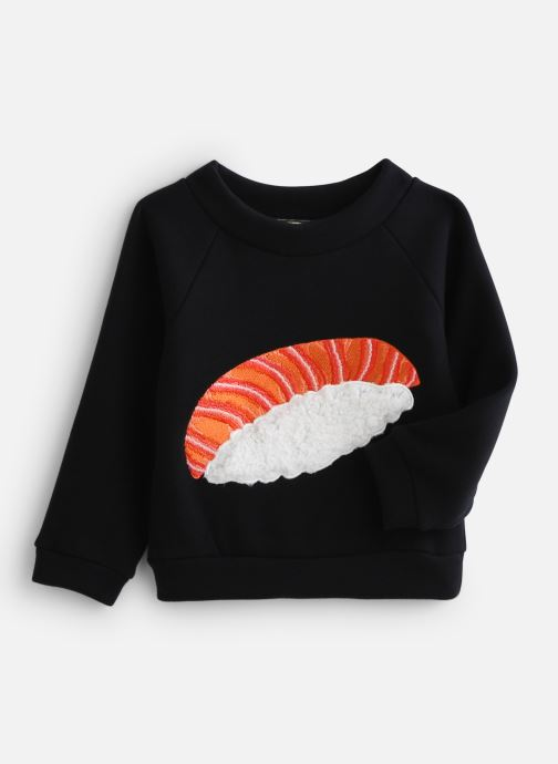 Kleding Milk On The Rocks Stan Sweat Shirt Sushi Blauw detail