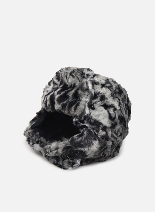 Hue Accessories Hairy Hat Leopard
