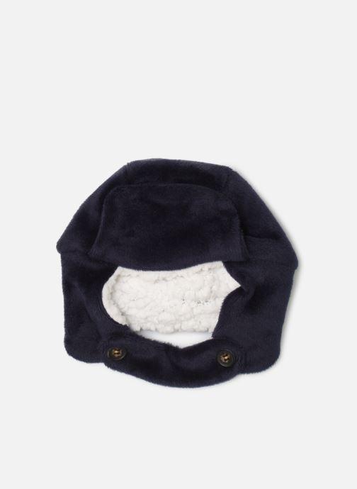 Berretto Milk On The Rocks Hairy Hat Shadow Marrone modello indossato
