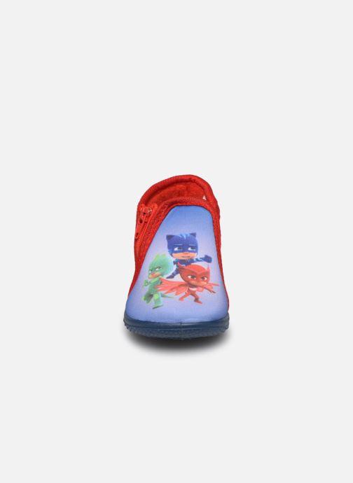 Chaussons PJ Masks Pj Marceau Bleu vue portées chaussures