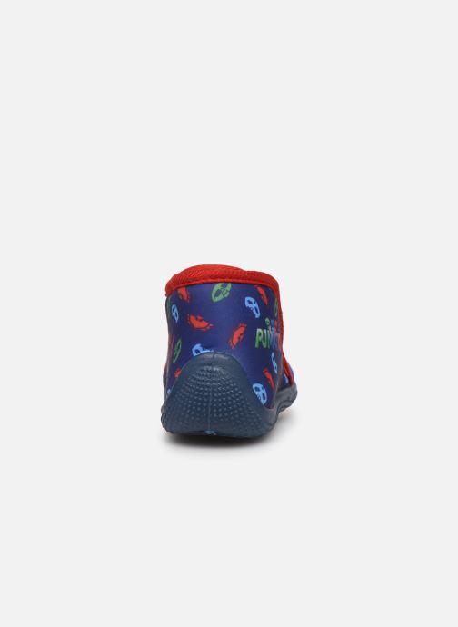 Pantuflas PJ Masks Pj Marceau Azul vista lateral derecha