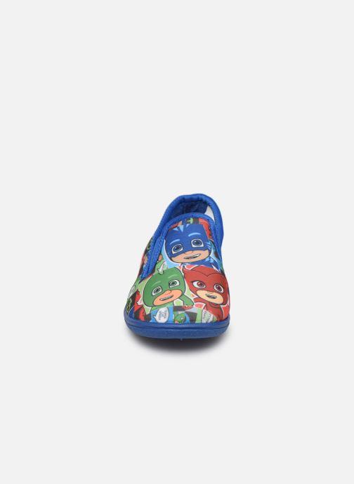 Chaussons PJ Masks Pj Mavrick Bleu vue portées chaussures