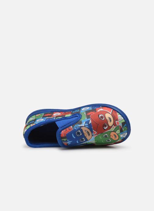 Pantuflas PJ Masks Pj Mavrick Azul vista lateral izquierda